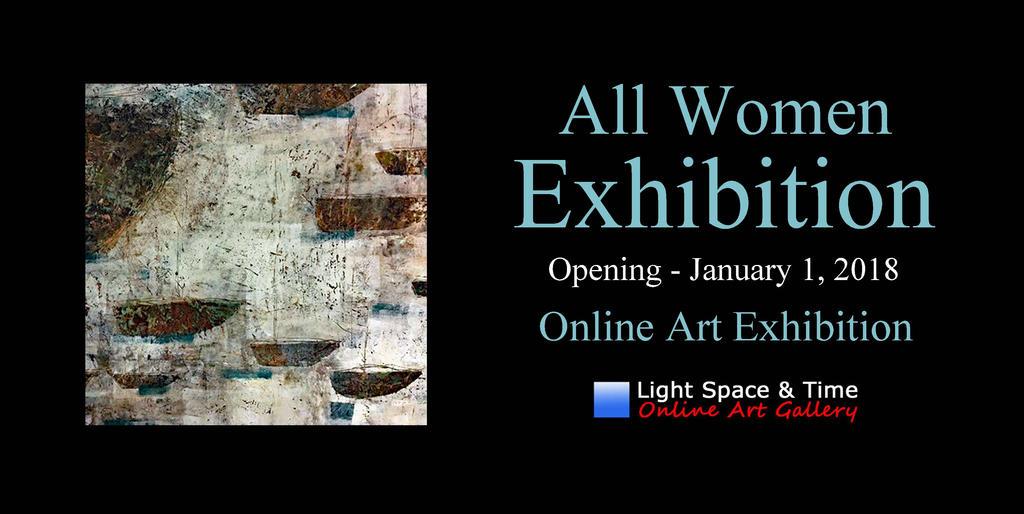 All Women 2018  Art Exhibition -  Event Postcard by JenniWeaver
