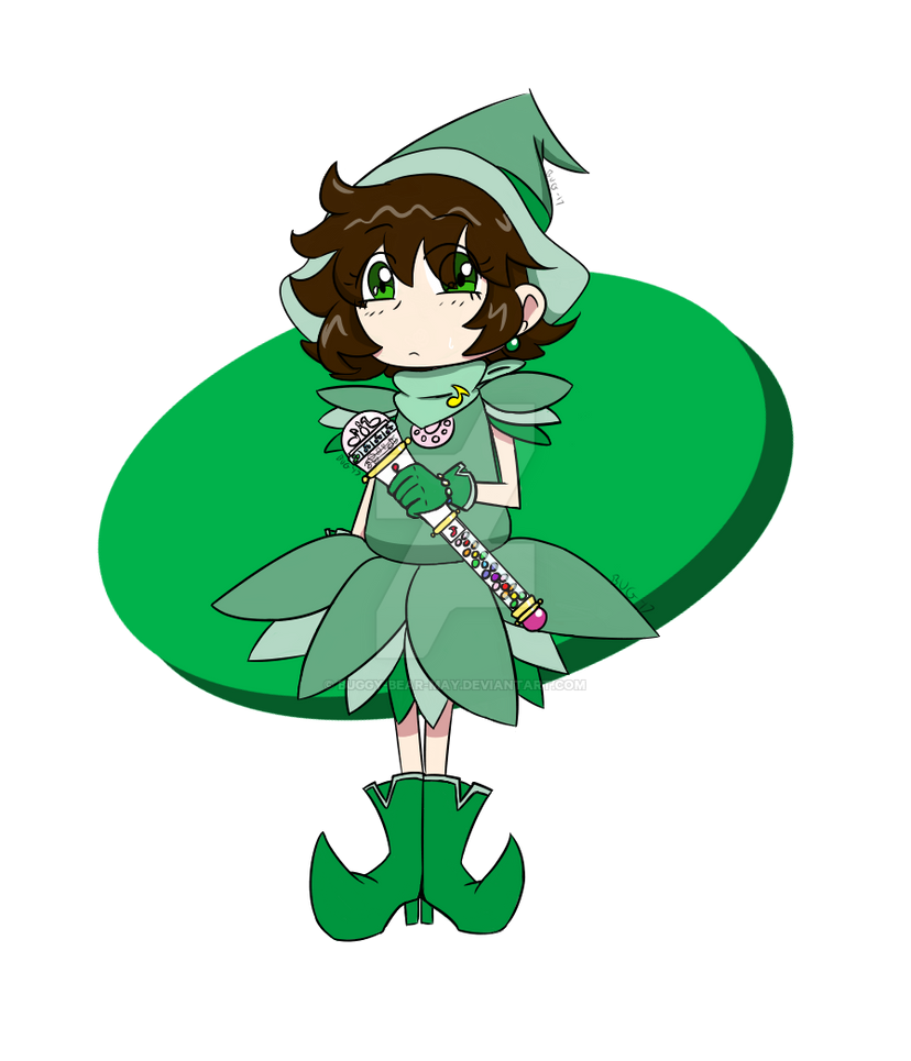 Another Green Witch! by Buggy-Bear-May