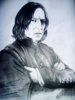 Severus Snape by livingdeaddollie