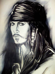 Jack Sparrow by livingdeaddollie