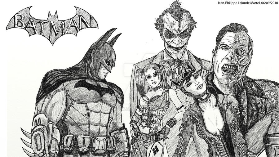 Batman Arkham City By Jp1223 On DeviantArt