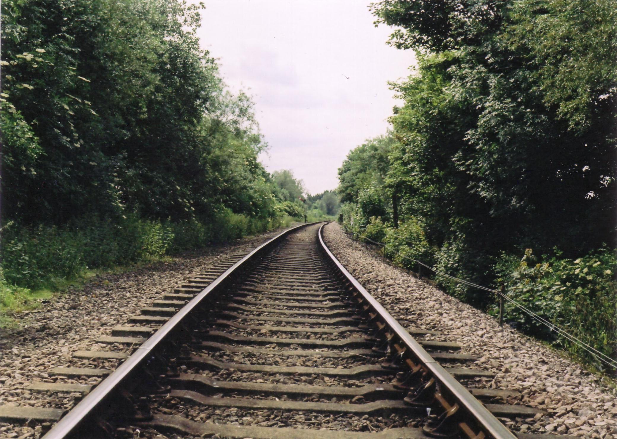 Train Tracks Train-tracks by funky-fairy