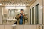 Self at Dunkers washroom