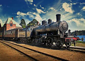 Veteran train HDR by carlzon