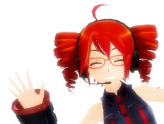 [MMD] Free Teto icon or someting else by Isabeladenicola
