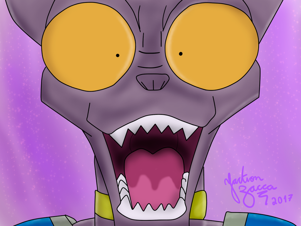 funny face Beerus
