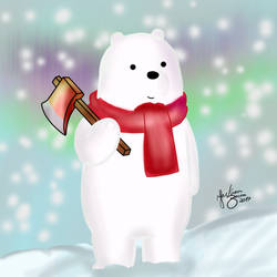 Ice Bear looks for a Perfect Tree (We Bare Bears)