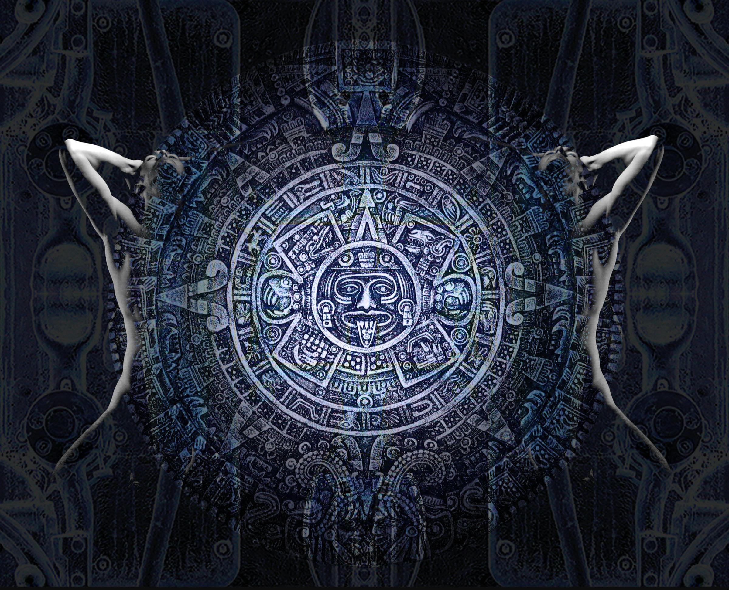 Blue Aztec by l...