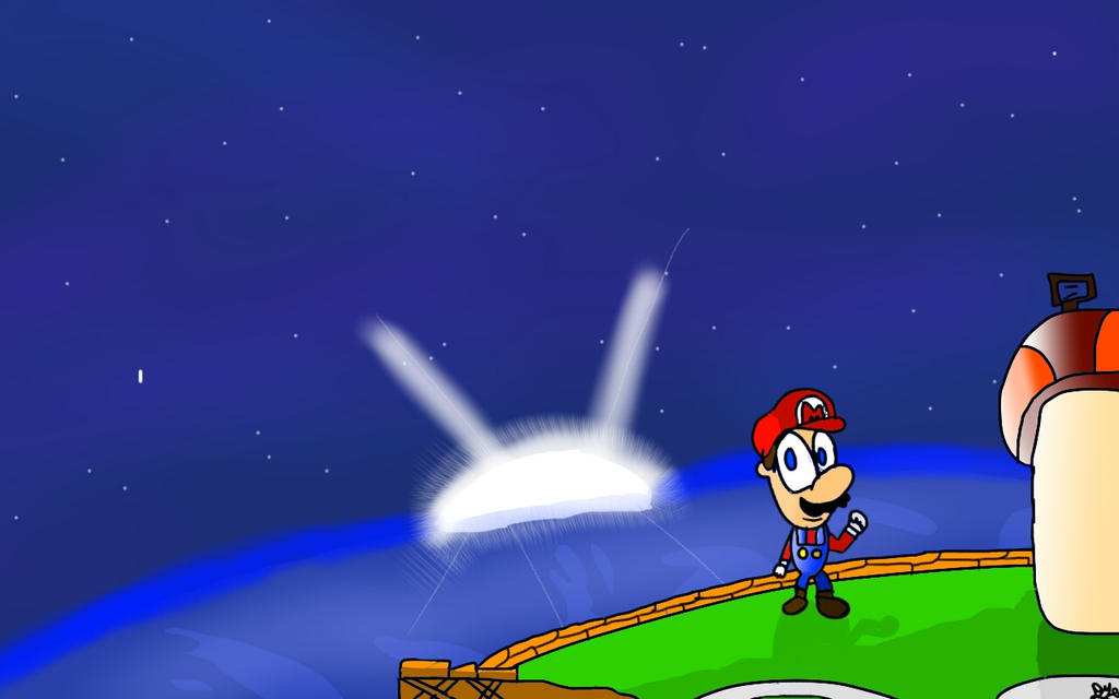 Mario At The Good Egg by DeviantYoshi64