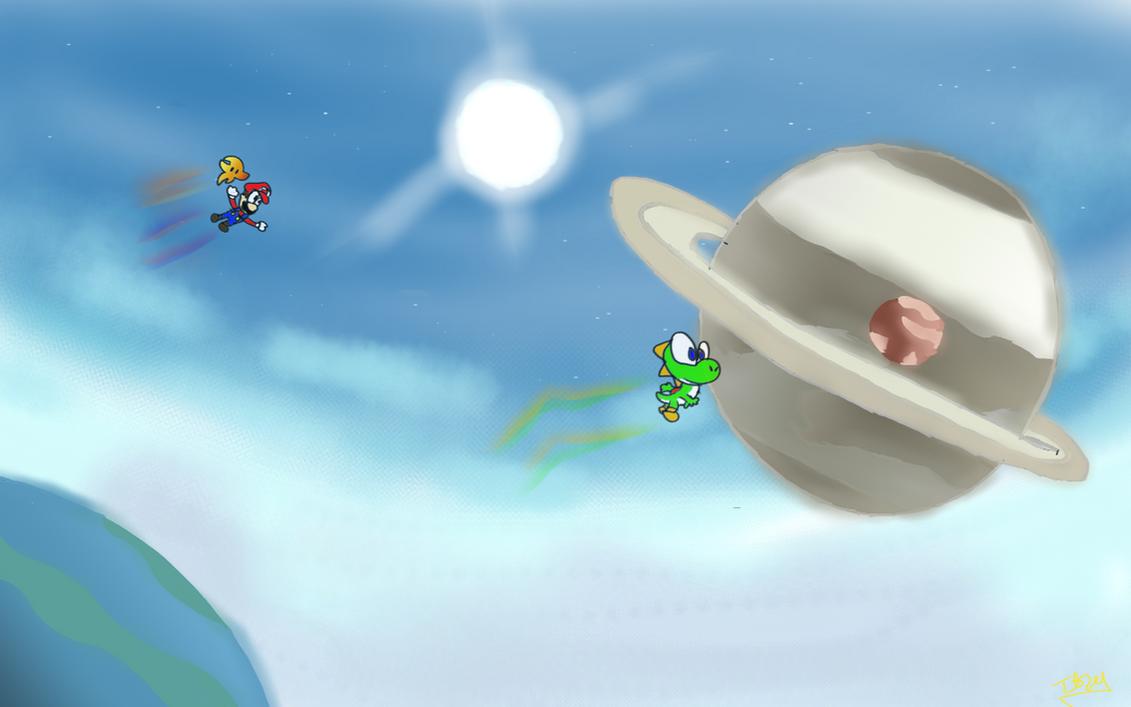 Super Mario Galaxy 2 by DeviantYoshi64