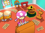 Toadette's Music Room by DeviantYoshi64