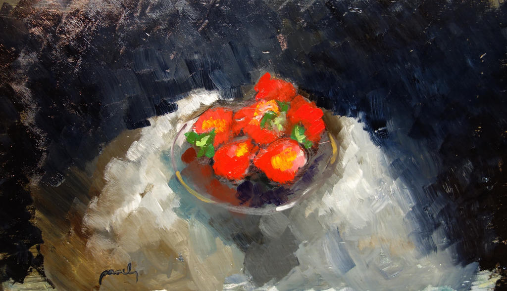 Strawberries by pavelbednar