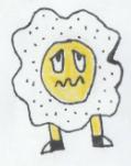 5/768 - Mr. Egg (BurgerTime) by DiskJoshy