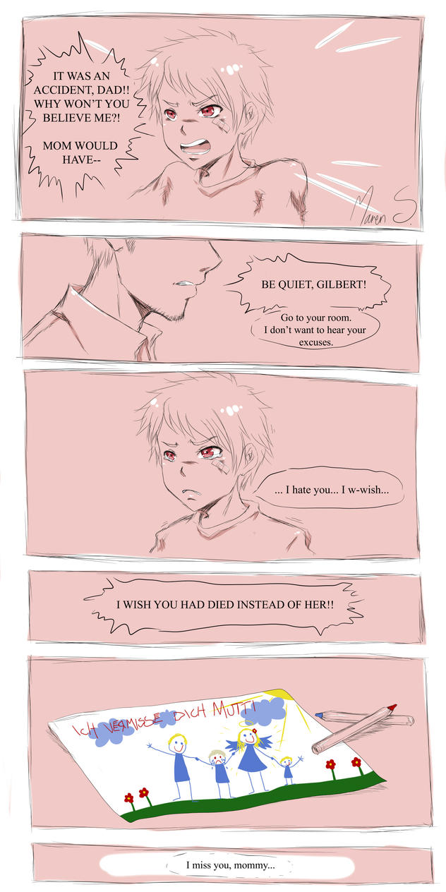 APH - Hetalia - I miss you, mommy... by WhistlingWolf13