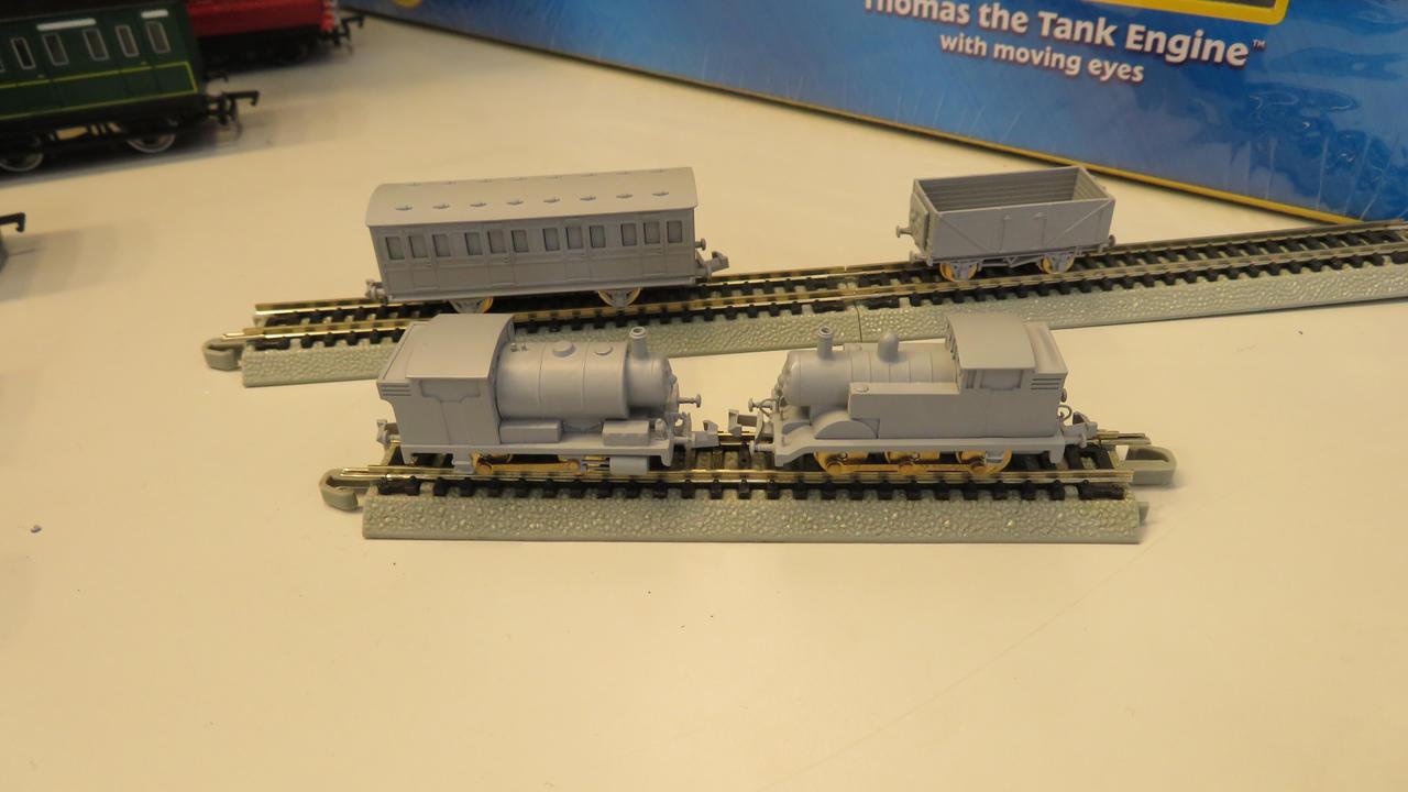 Bachmann N Scale Thomas Model Prototypes
