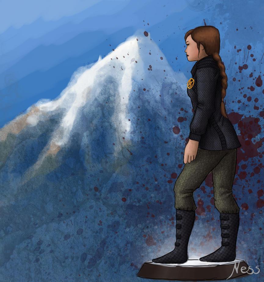 Katniss Fan Arts! Katniss_everdeen_by_wafflesl-d4eejyr