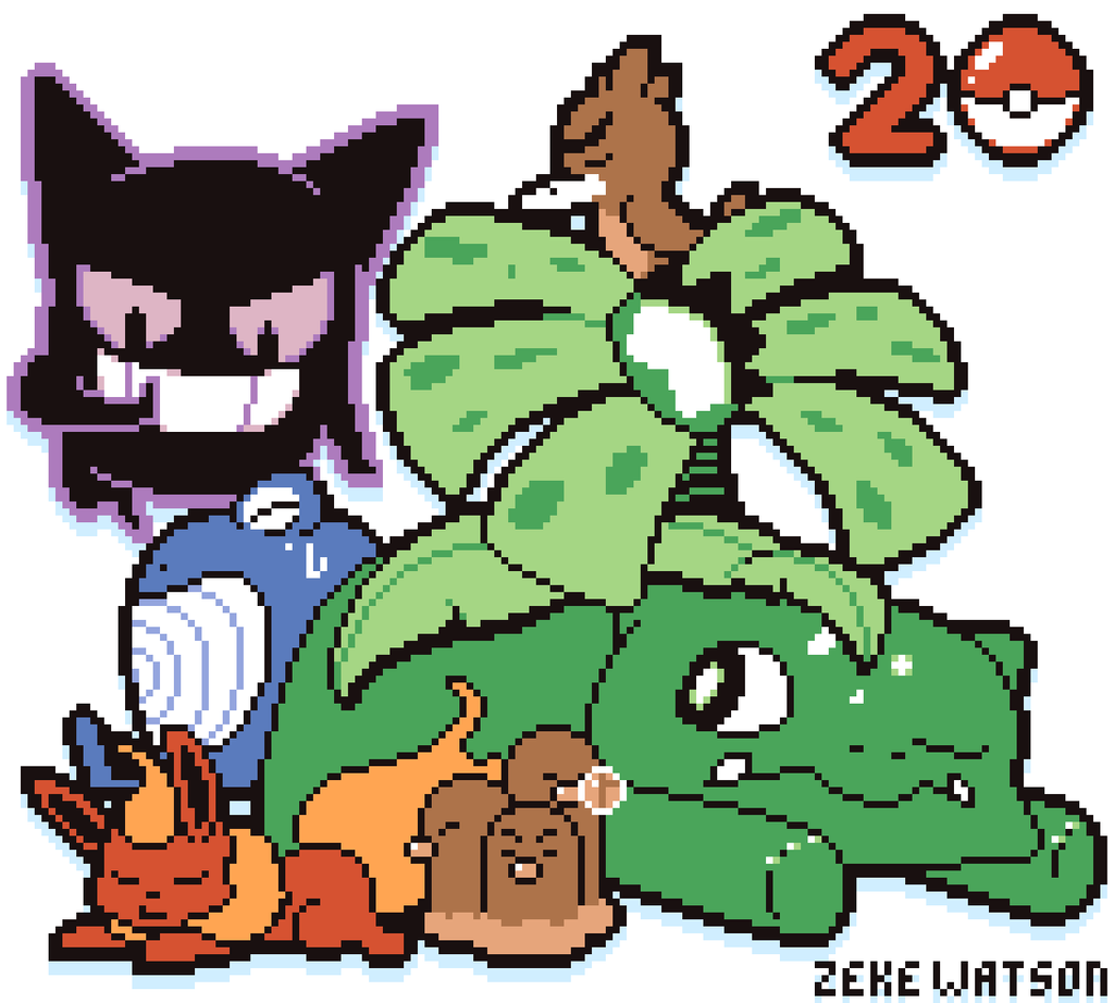 Gameboy color palettes - Pokemon 20 Gameboy Color By Zekewatson Pokemon 20 Gameboy Color By Zekewatson