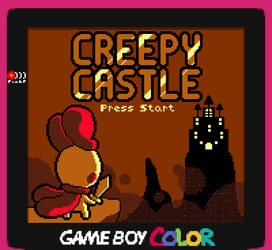 Creepy Castle GBC by ZekeWatson
