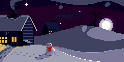 Snowscape by ZekeWatson