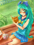 c: shh! i m trying to read!