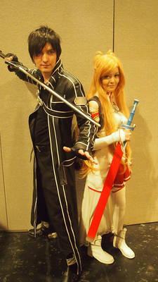 Sword Art Online (SAO) Cosplay: Kirito and Asuna