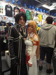 Sword Art Online (SAO) Cosplay: Kirito and Asuna3