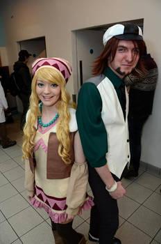 Tiger and Bunny Cosplay: Kotetsu and Karina4