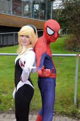~Spider-Verse: Spiderman  SpiderGwen Cosplay~