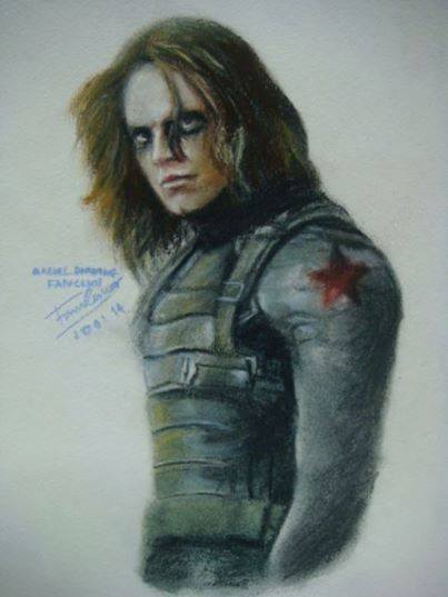 Bucky the winter solder by FawnCorner