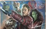 Guardian of the Galaxy pastel drawing byFawnCorner