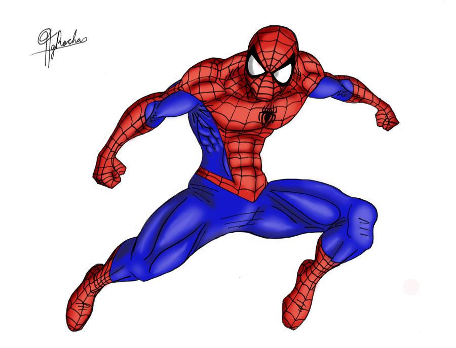 spider man color by spideyfan3714 on deviantart