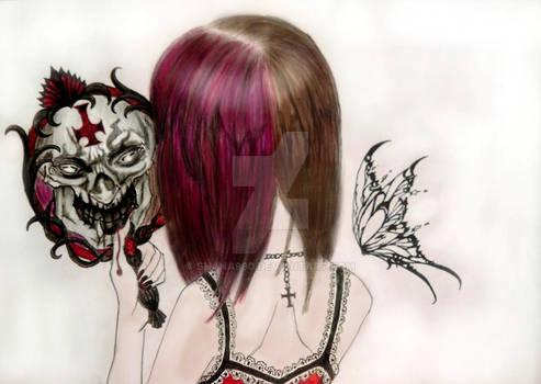 Demonic face :) (fan art)