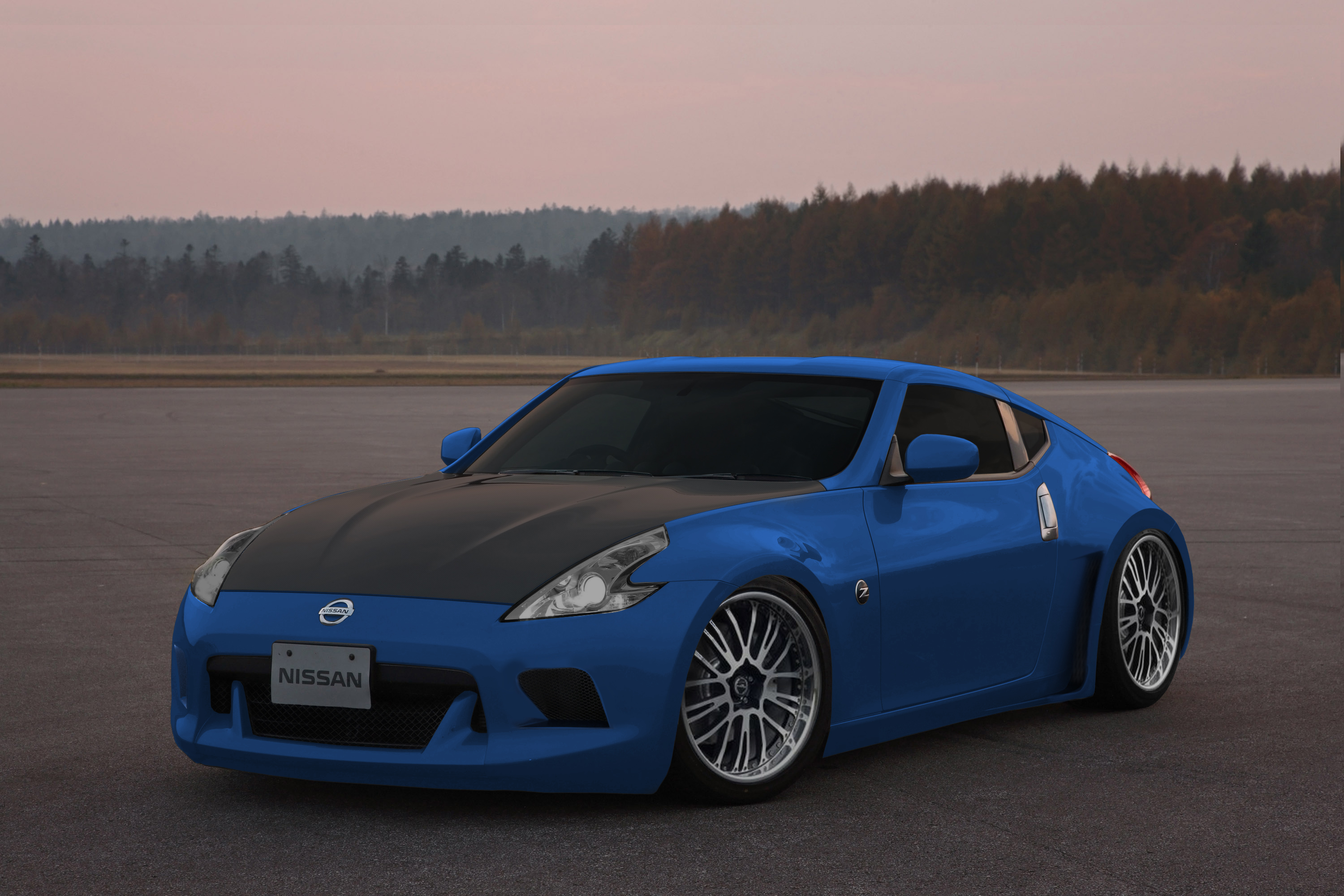 nissan 370z tuning by bmwe34 on deviantart. Black Bedroom Furniture Sets. Home Design Ideas