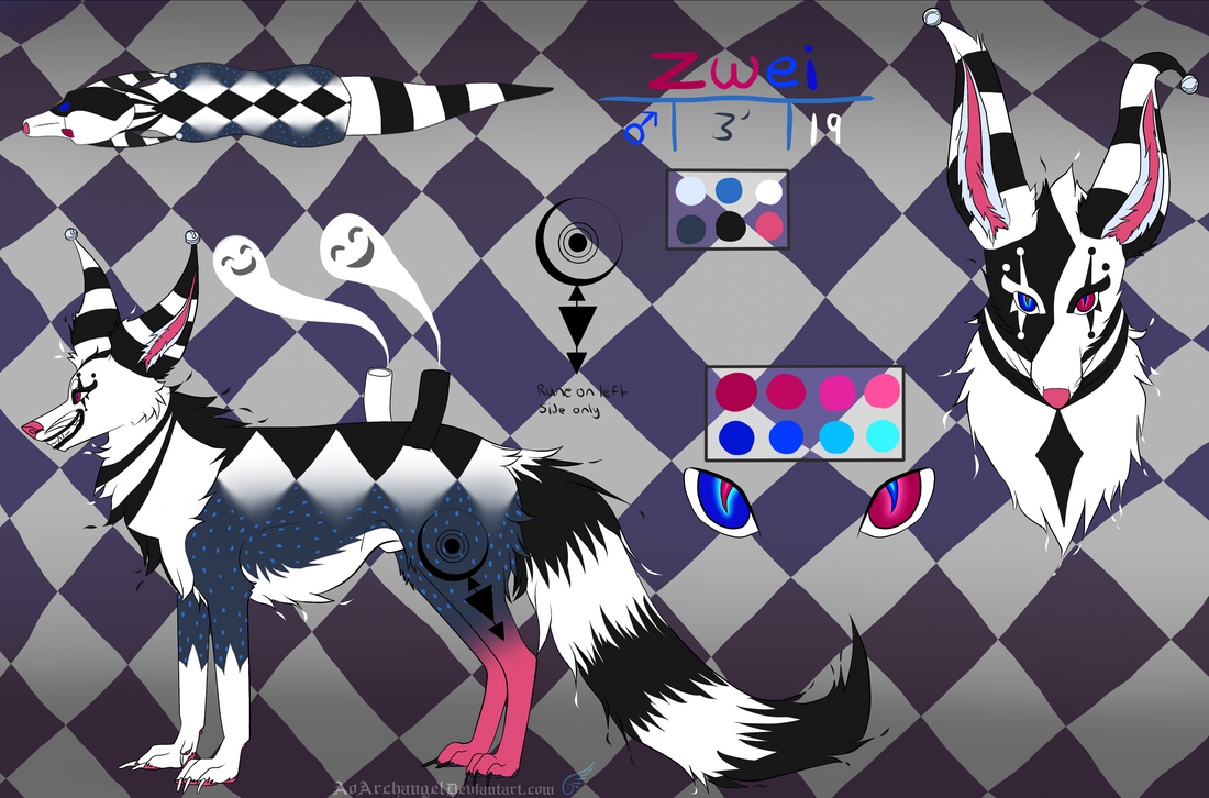 (G) Zwei Digital Ref by AoArchangel
