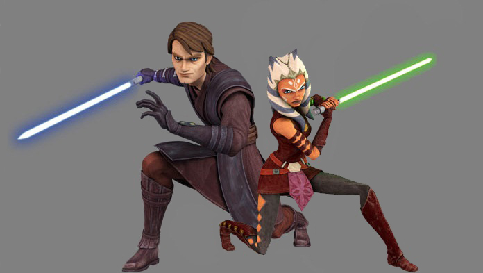 Anakin And Ahsoka Seas...