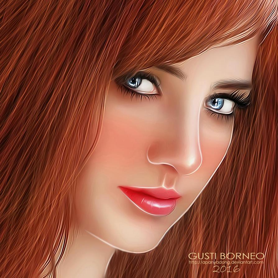Red Lips by apanyadong
