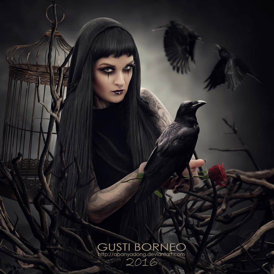 Raven Cage by apanyadong
