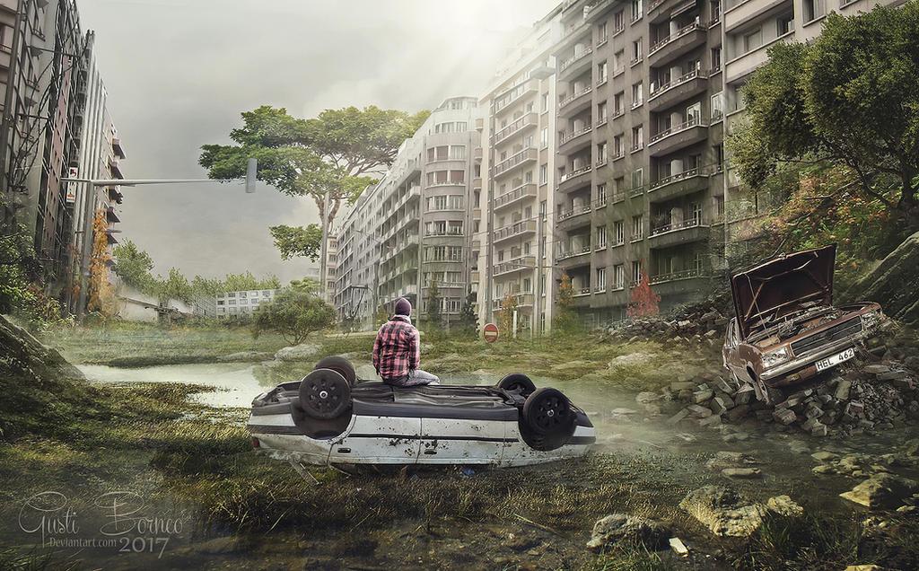 Abandoned City by apanyadong