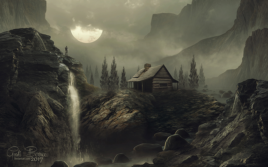 The Moon Is Down by apanyadong