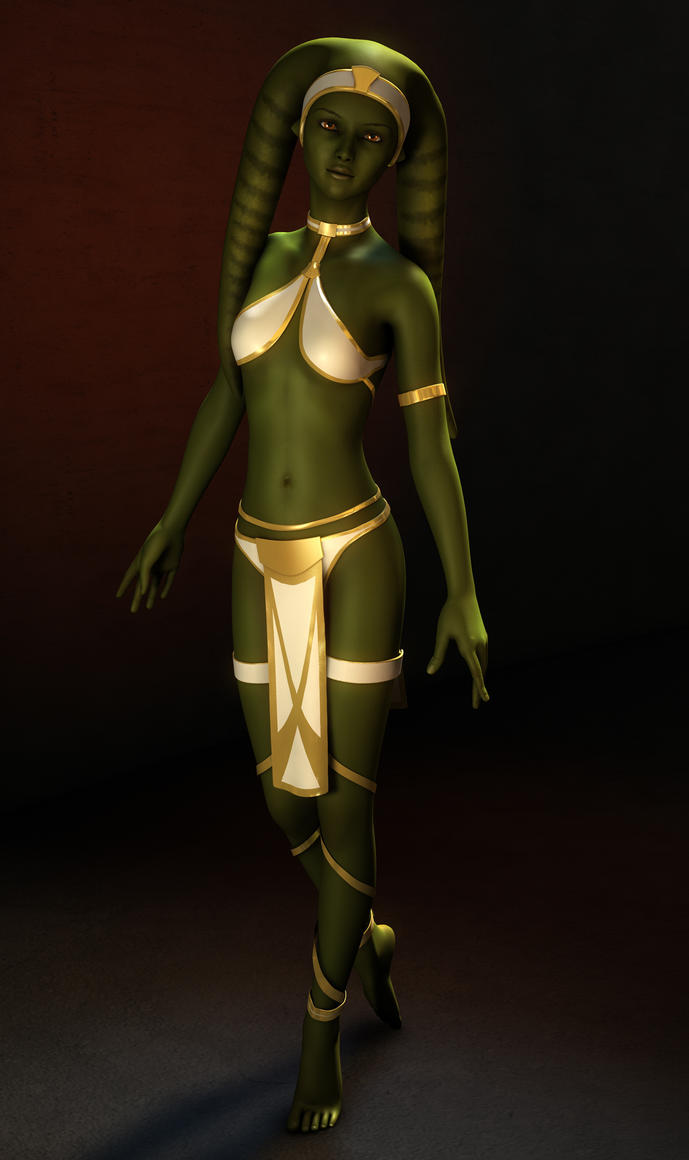 Twi'lek dancer toppless porn images