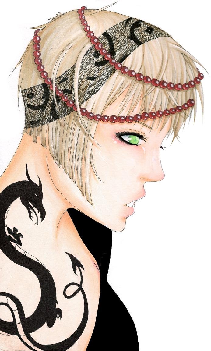 Dragon Tattoo by Surustu