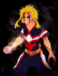 All Might final punch