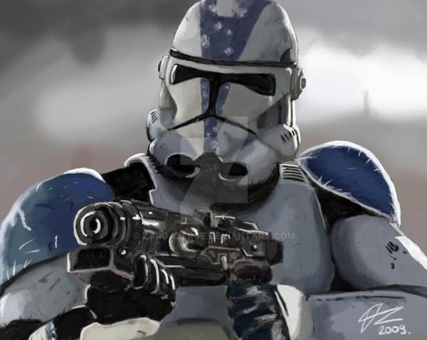 clone trooper by Zargazerge