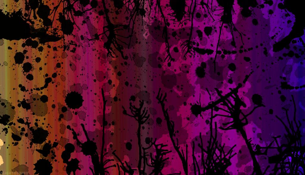 Rainbow Paint Splatter Wallpaper 2 By Flightedbird