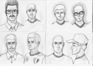 A Bunch Of Fellas by theDart76
