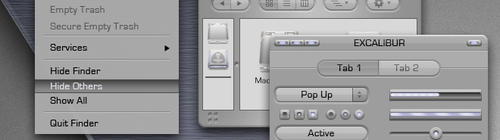 Excalibur GUIkit for MacOSX by NewaveCR
