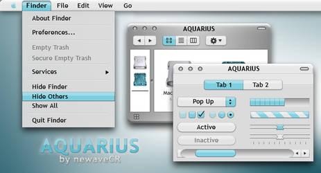 Aquarius GUIkit for MacOSX by NewaveCR