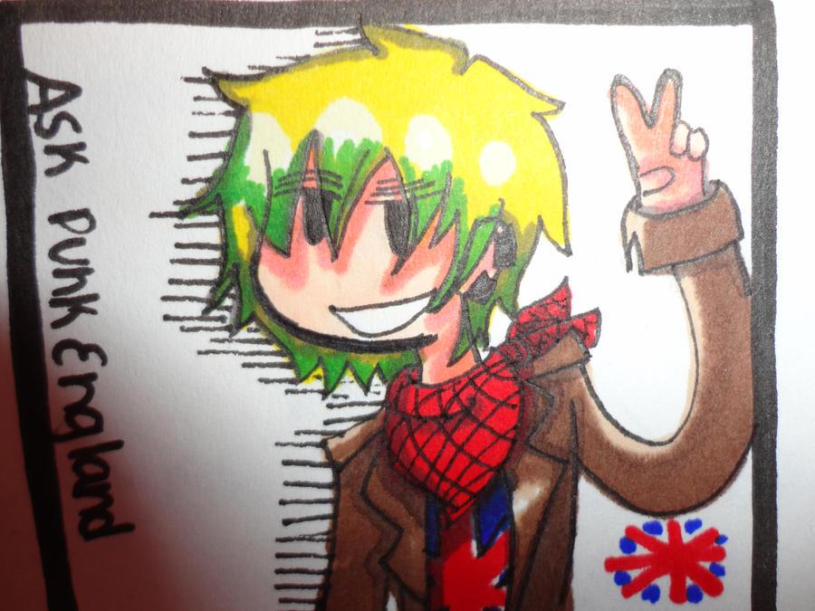 Ask Punk England by KrazieKat2112