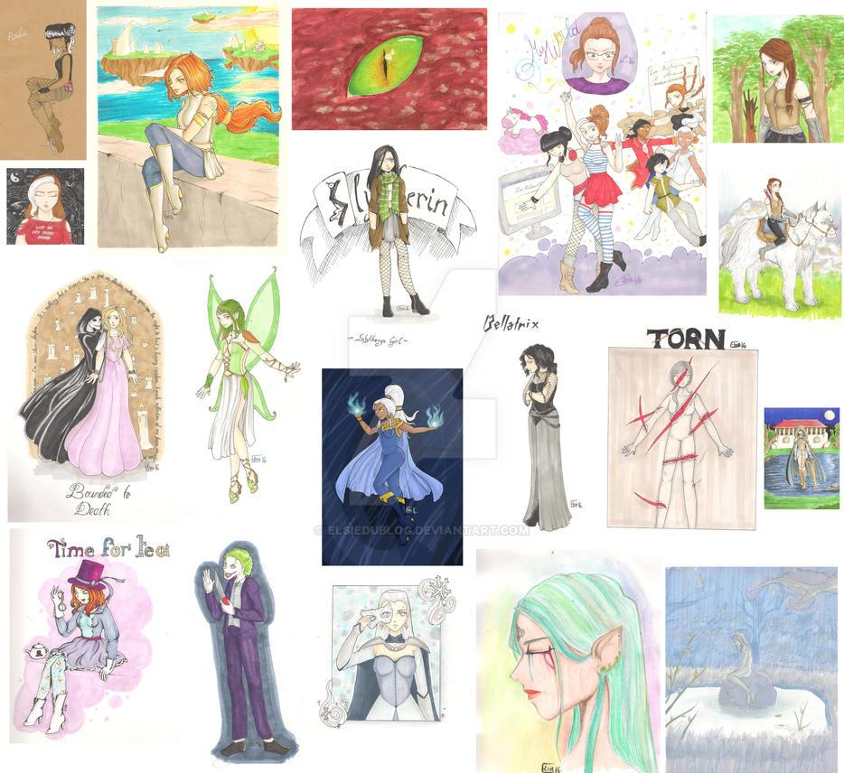 Drawings by ElsieDuBlog