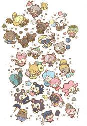 Animal Crossing Newleaf by nozomi-g